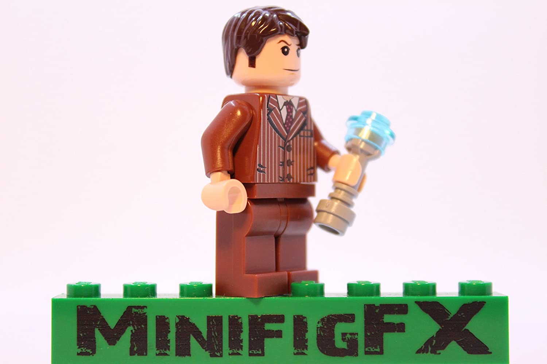Lego DR WHO 10th Doctor Custom Minifig David Tennant w Sonic Screwdriver