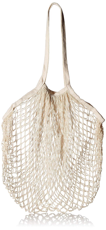 オーガニックコットンメッシュ 買い物袋 再利用可能 - 高耐久 洗濯可能 ショッピングバッグ バルクボックス 食料品バッグ B07LFKKC66
