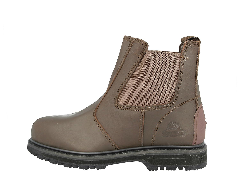 Groundwork GR20 N - Zapatos de Seguridad de Cuero Hombre: Amazon.es: Zapatos y complementos