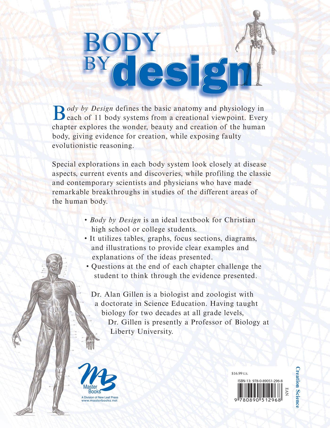 Body By Design: Alan Gillen: 0000000881920: Physiology: Amazon Canada