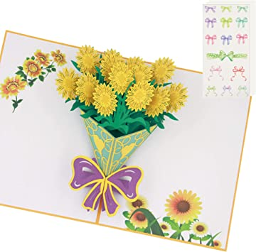 Greeting Card Just Because Flower