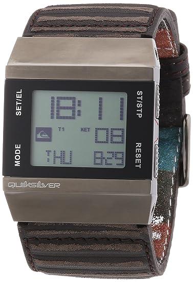 Quiksilver M141DLUBR - Reloj digital para hombre