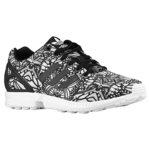 on sale 448cd 38999 Adidas Women's ZX Flux Floral Stained Glass Running Shoes ...