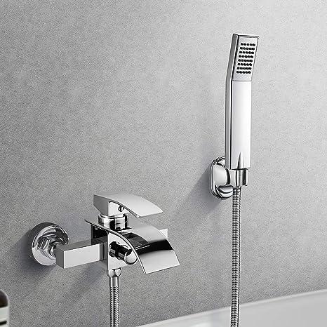 Wannenarmatur Unterputz für Badewanne Wasserhahn Einhebelmischer