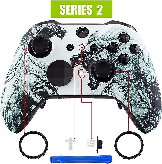 eXtremeRate Carcasa para Xbox One Elite Protectora Tacto Suave ...