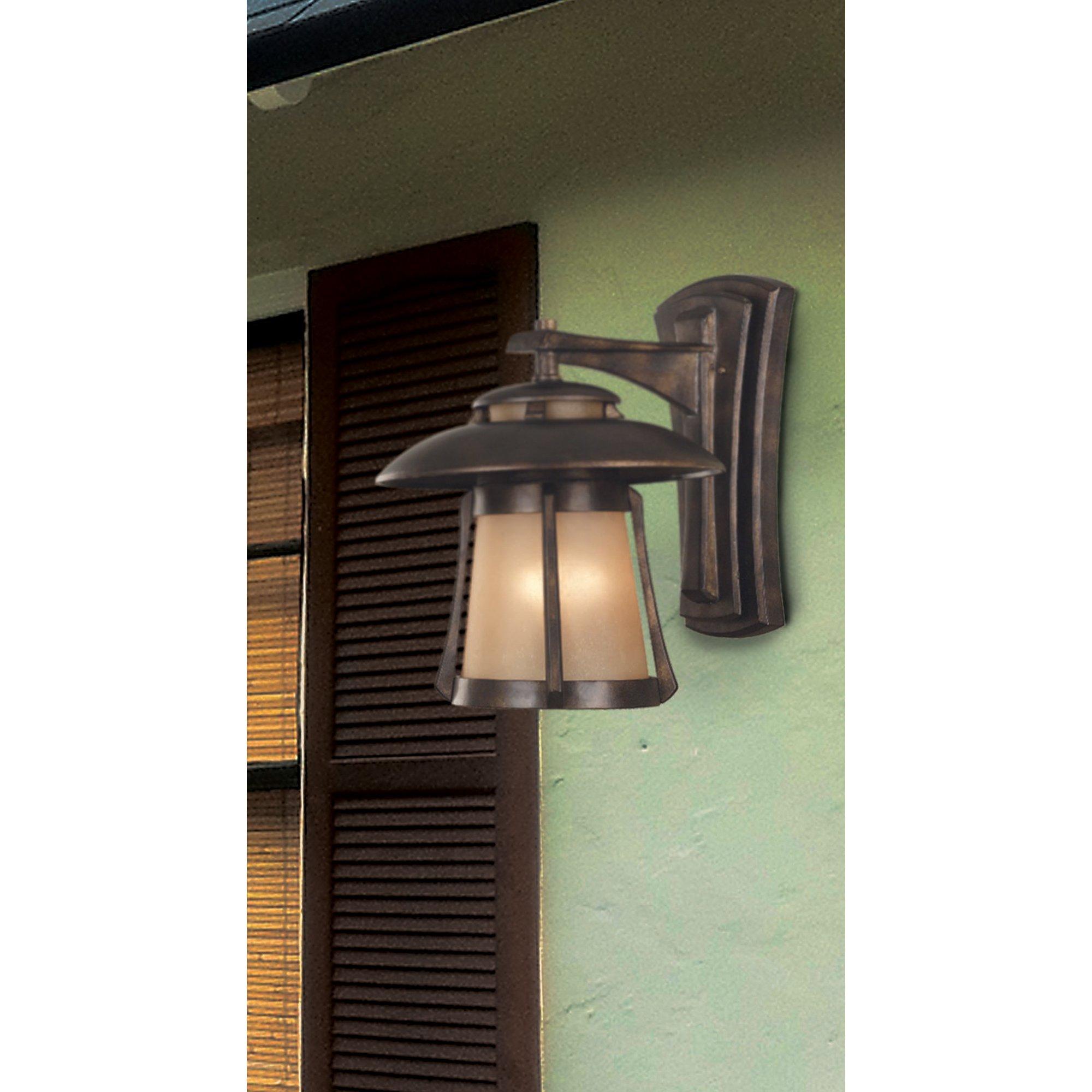 Kenroy Home 3195 Laguna Medium Wall Lantern, Golden Bronze