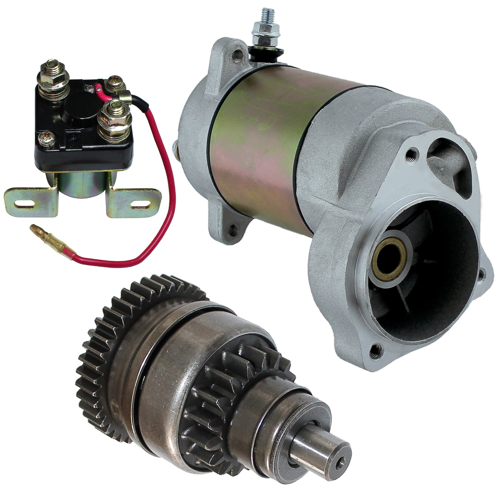 Caltric Starter Drive & Relay Solenoid Fits POLARIS SPORT 400 1994-1999