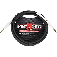 Pig Hog 8mm Guitar/Instrument Cable, 1 Foot