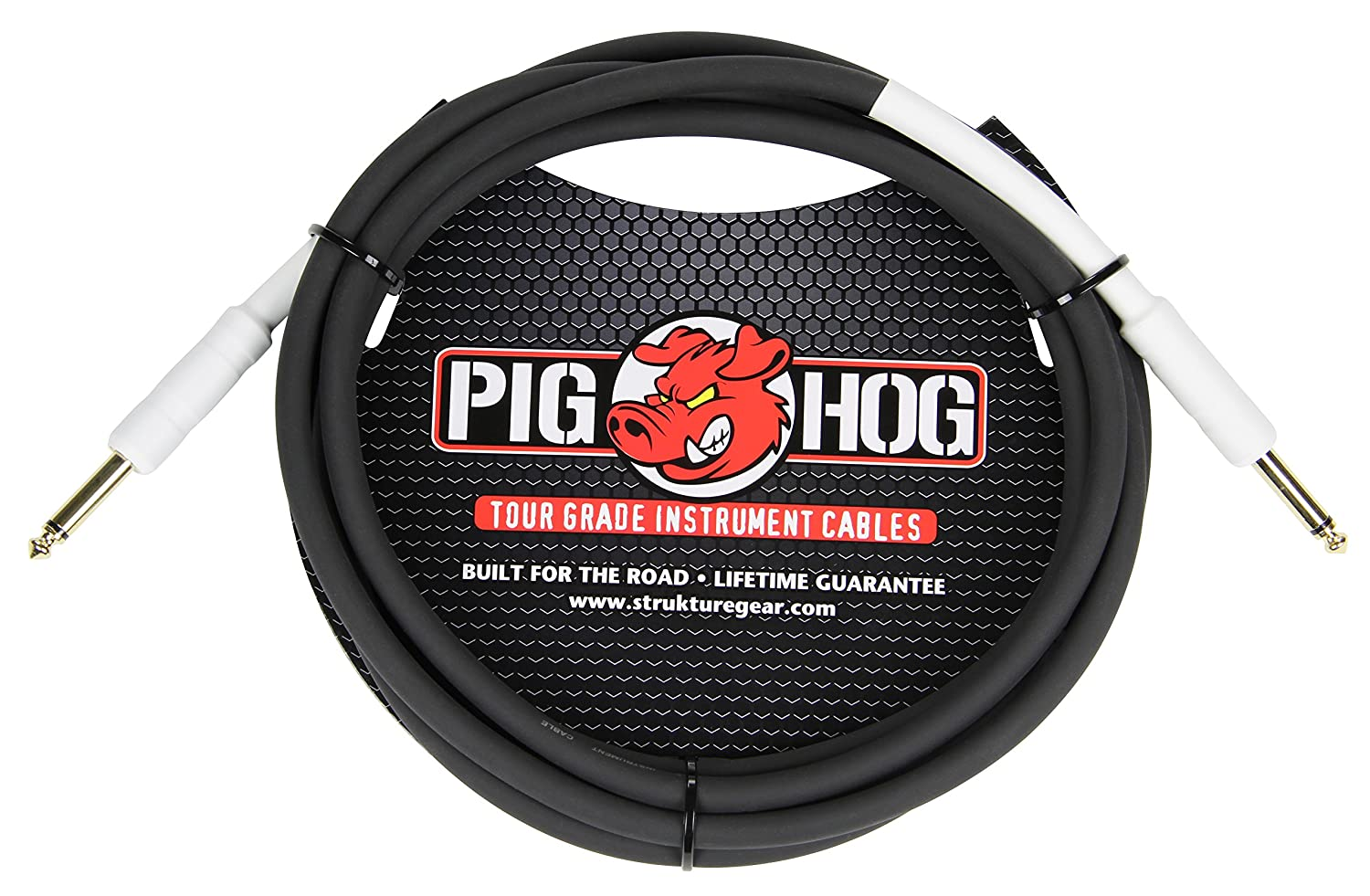 "Pig Hog 10ft 1//4/"" to 1//4/"" Dual Cable 2-Channel Stereo NEW"