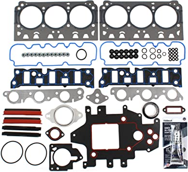 CHG0140 Head Gasket Set for GM 3.8L 231 V6 Supercharged Buick Park Avenue Regal Riviera Chevy Impala Monte Carlo Oldsmobile LSS Pontiac Bonneville Grand Prix