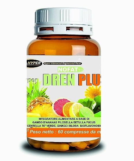 Drenante para adelgazar | Suplemento natural diurético | Dren Plus ...