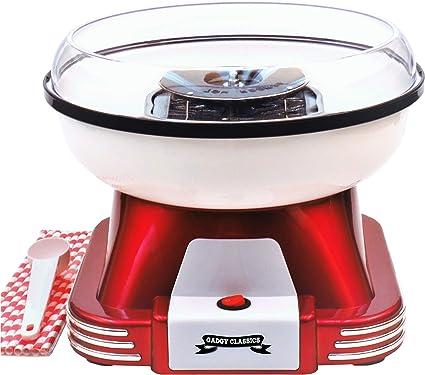 Gadgy ® Maquina de Algodon de Azucar | Retro Cotton Candy Machine ...