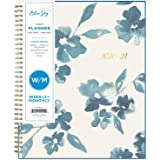 "Blue Sky 2020-2021 Academic Year Weekly & Monthly Planner, Frosted Flexible Cover, Twin-Wire Binding, 8.5"" x 11"", Bakah…"