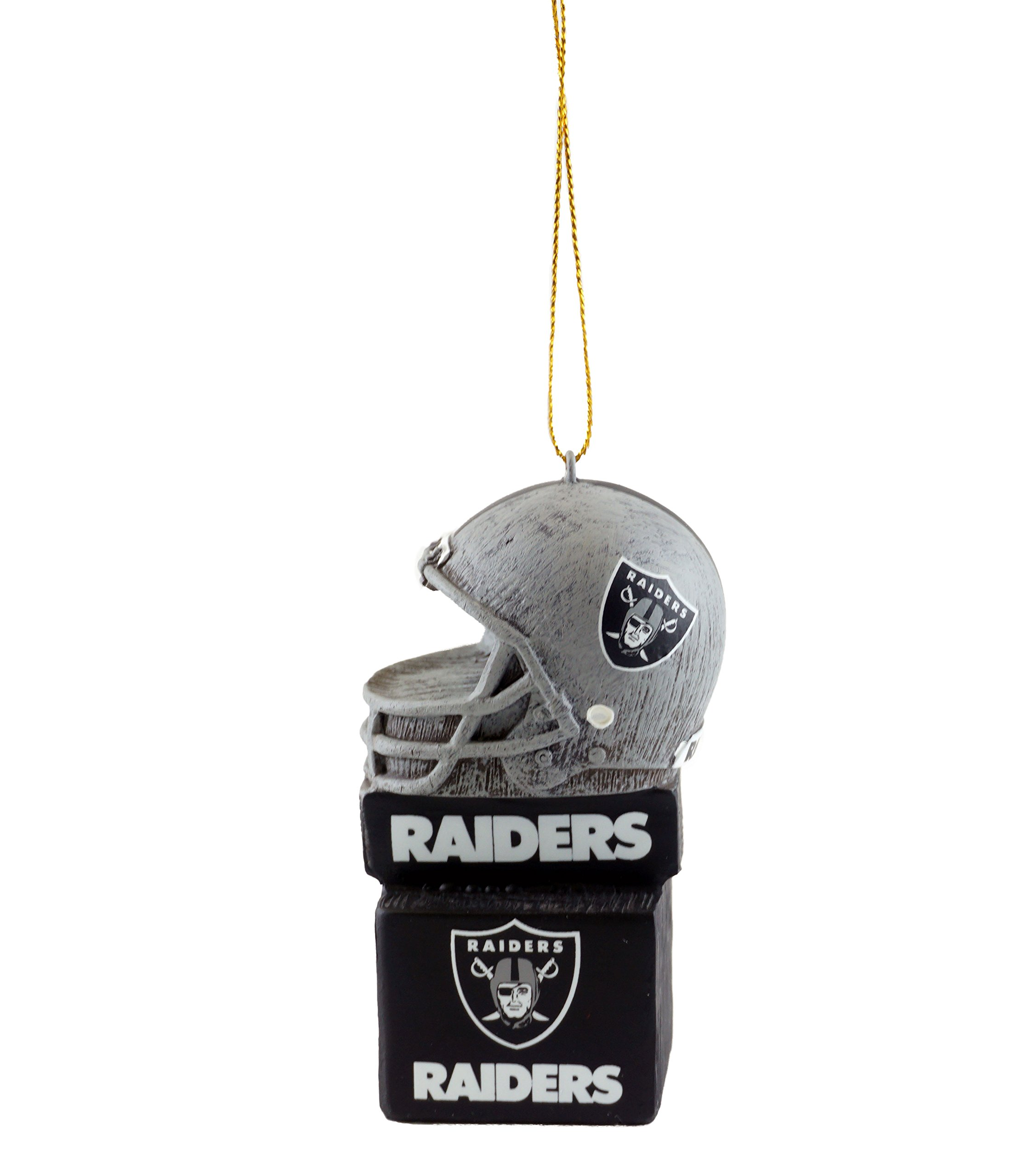 JWM Raiders Football Helmet Sports Ornament