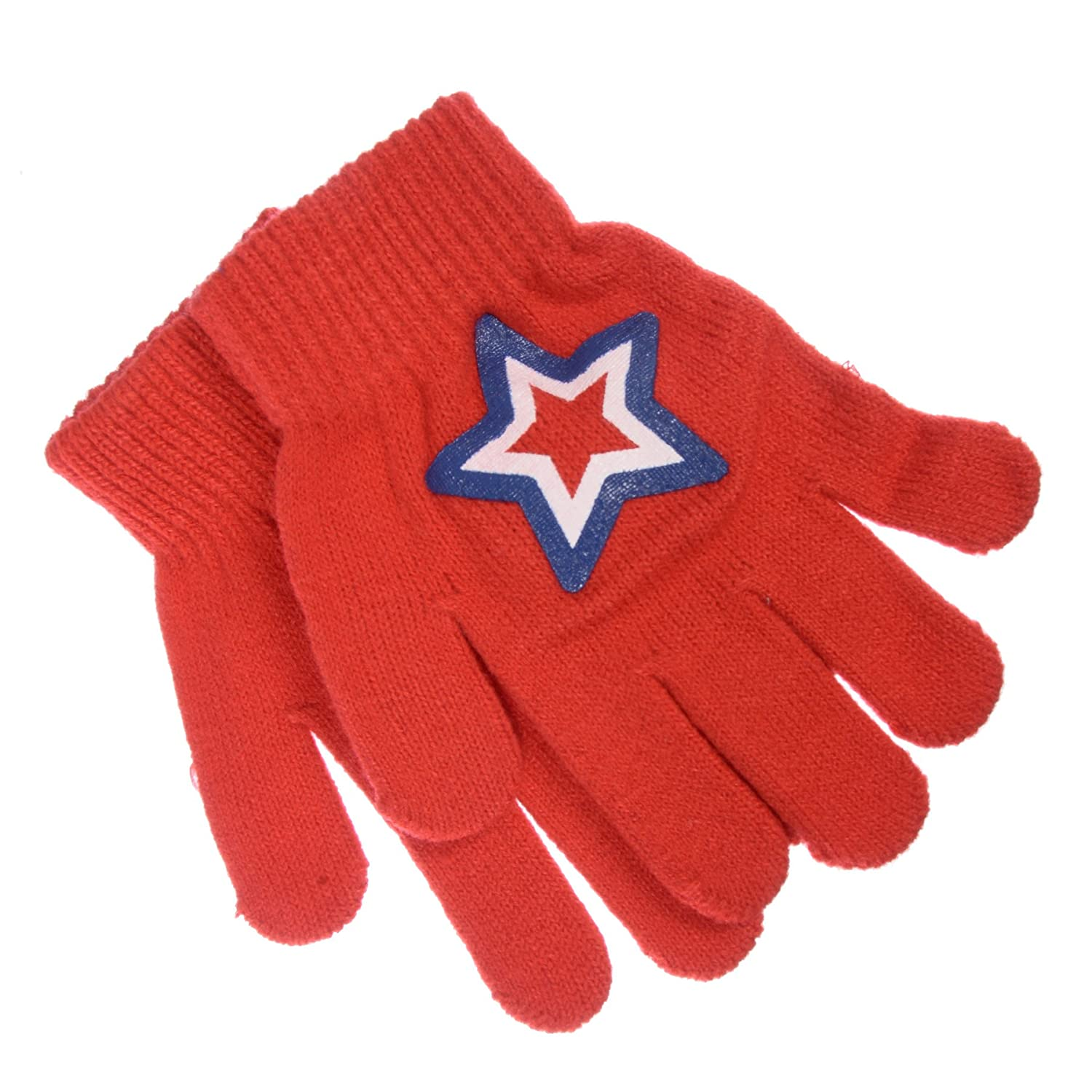 Chili Peppers Boys Gripper Winter Beanie and Glove Set