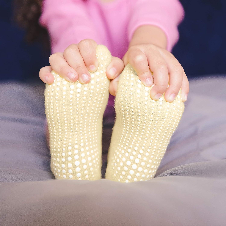 LA Active Tobillera Calcetines Antideslizantes 6 Pares para Beb/é Ni/ños Ni/ñas Infantil Reci/én Nacido