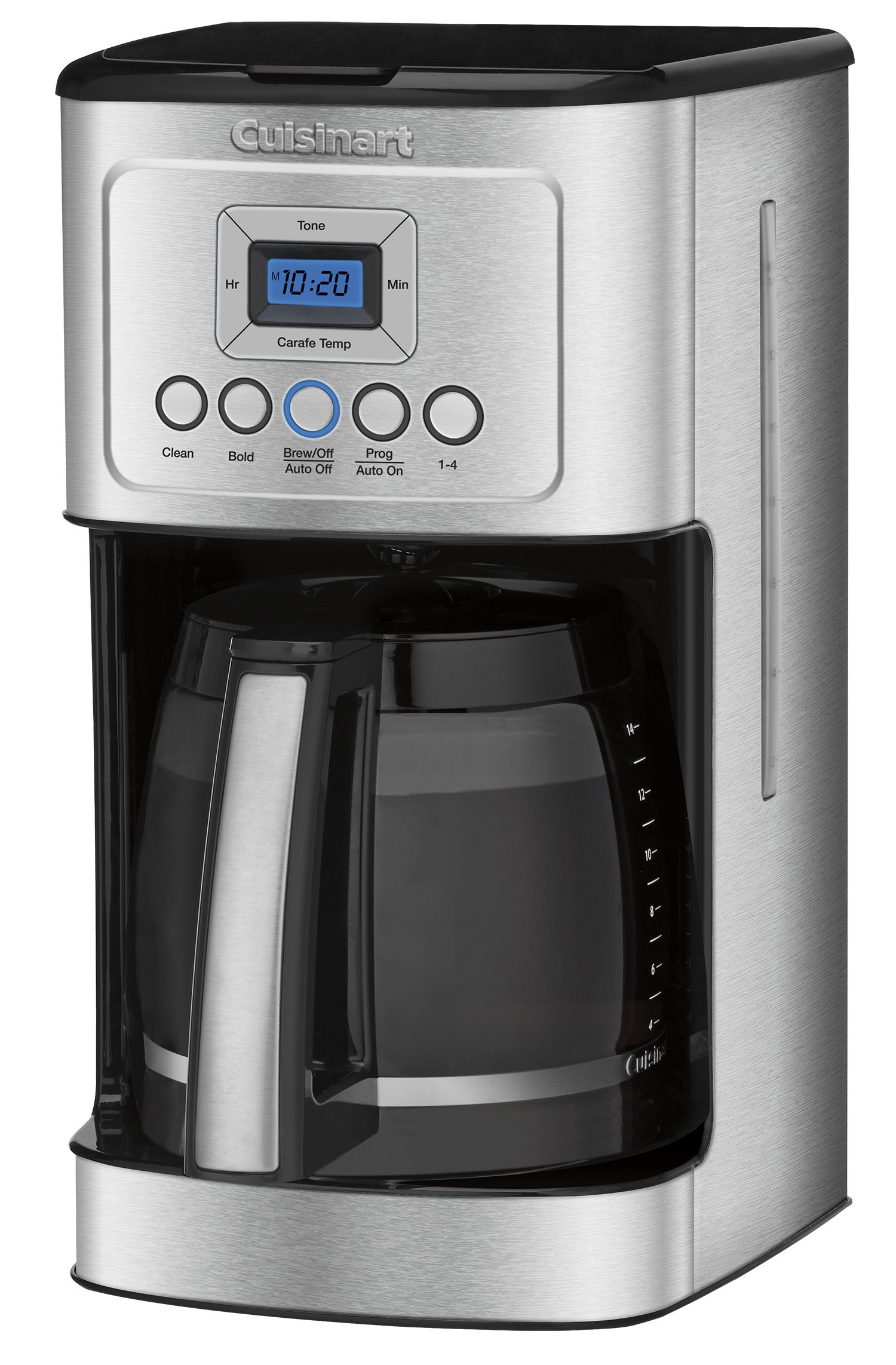 Cuisinart DCC-3200 14-Cup Glass Carafe with Stainless Steel Handle Programmable Coffeemaker, Silver by Cuisinart (Image #2)
