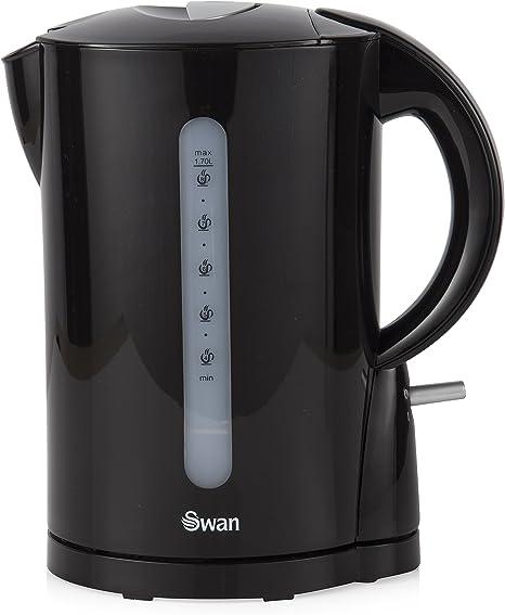 bleu sans fil Design 2.2 kW Swan 1.7 L SK 18120 BLUN Jug Kettle