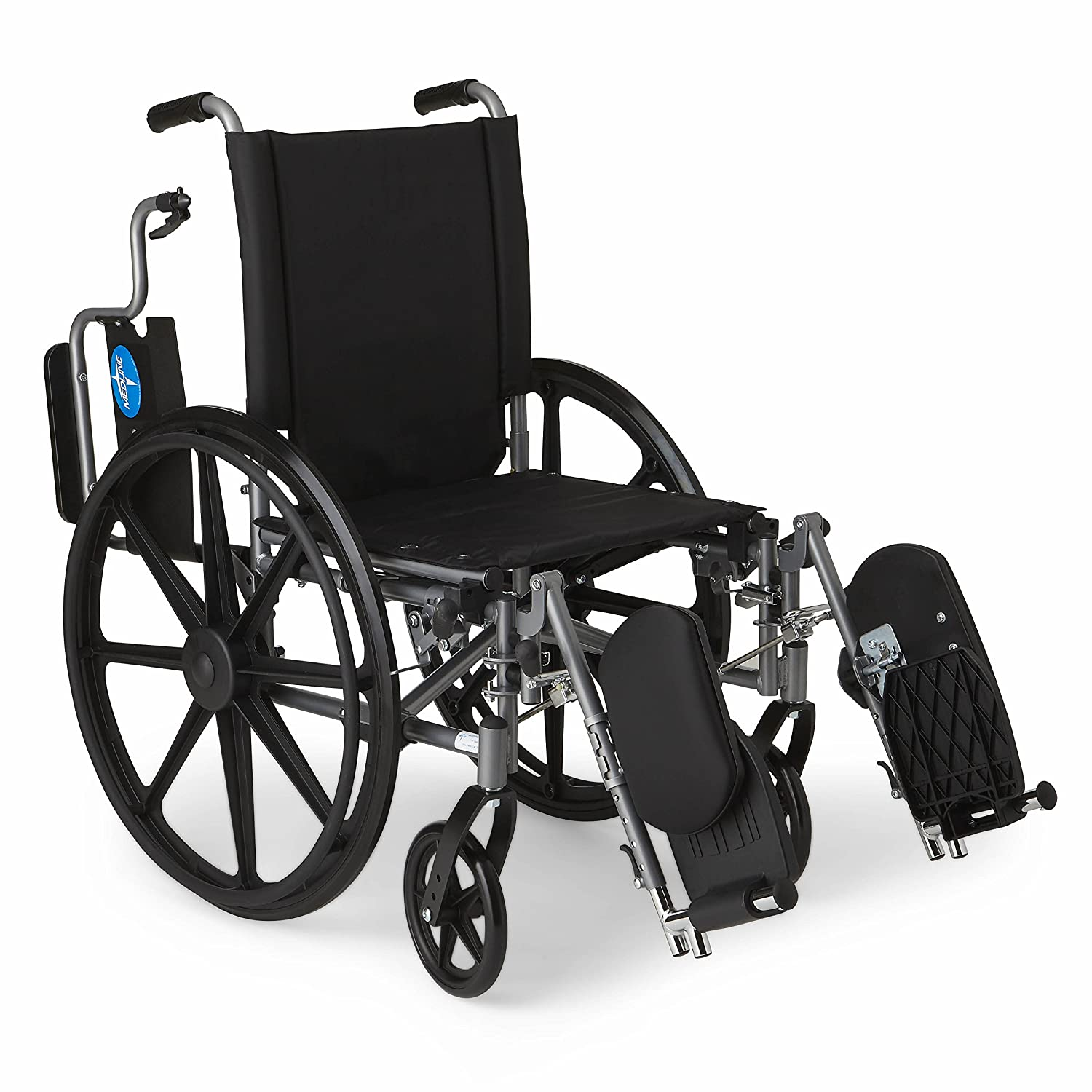 amazon com medline lightweight and user friendly wheelchair with