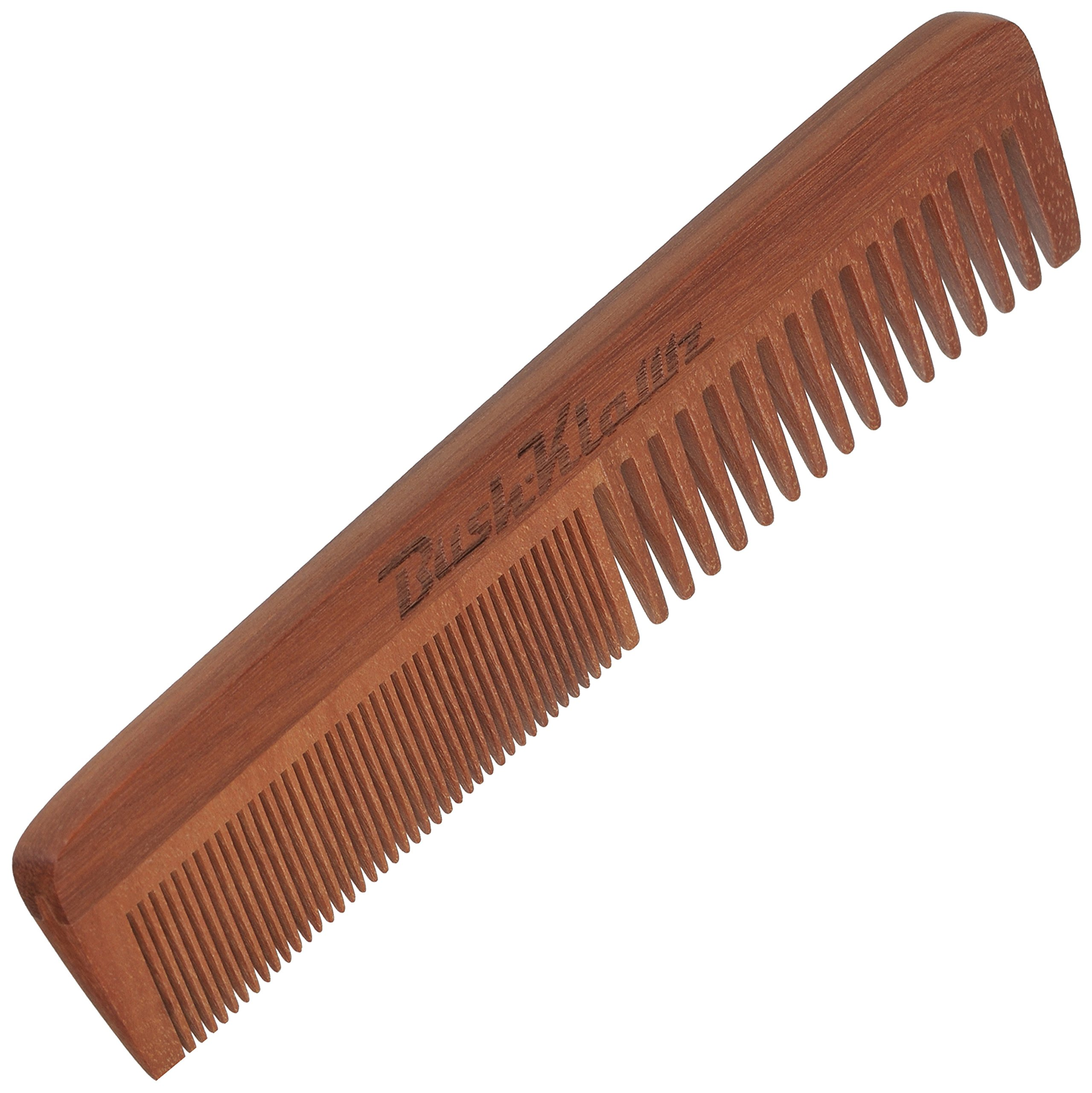2Klawz Hair Comb for Men - Hair and Beard Comb with Wide and Fine Teeth Full Size 7'' Combination Comb - Best Man Comb Grooming Gift Special Gift For Mens comb Clark Kent Comb by BushKlawz (Image #2)