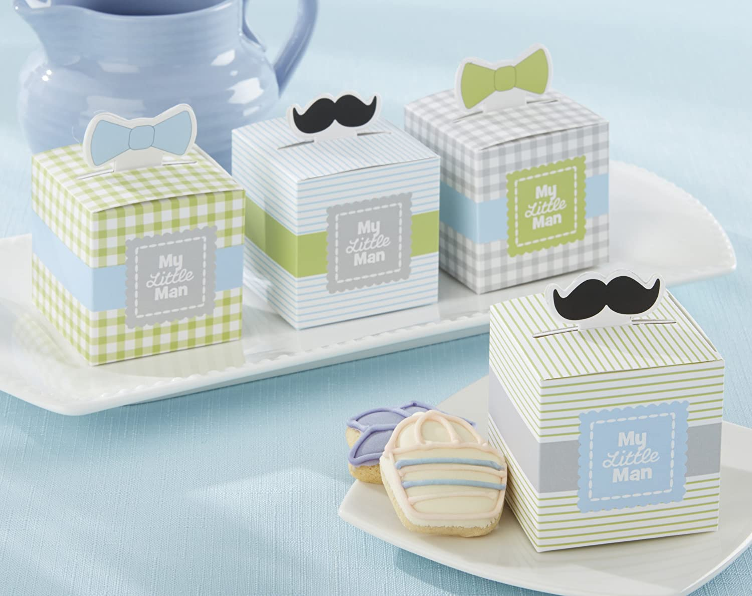 Amazon.com : Kate Aspen My Little Man Favor Box (Set of 24) : Baby
