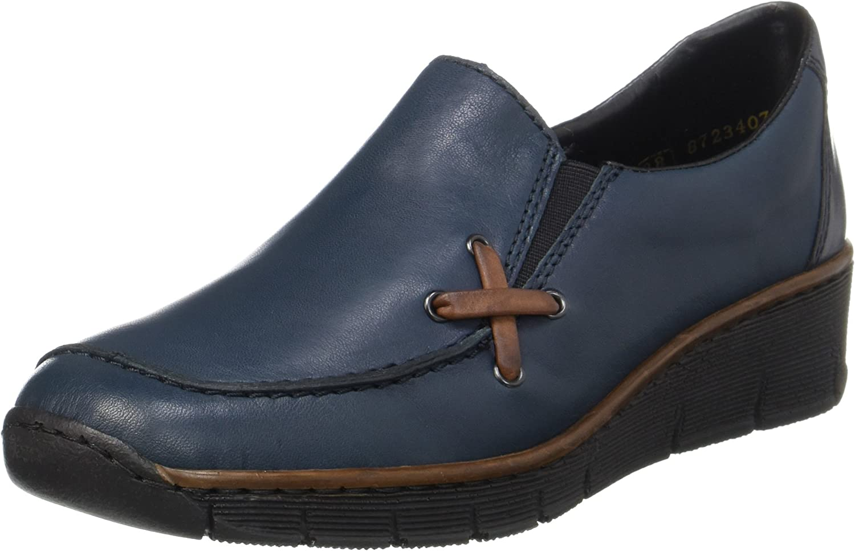 Damen Rieker Keilabsatz Schuhe 53783