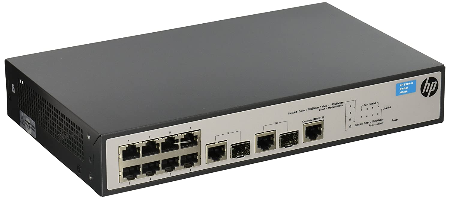 HP OfficeConnect 1910 8 (JG536A) Switch