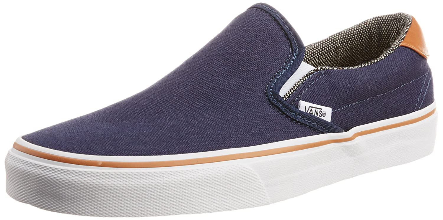 3ffdf0de31 Vans Men s Slip-on 59 C L Dress Blues and Tweed Canvas Boat Shoes - 8 UK   Buy Online at Low Prices in India - Amazon.in