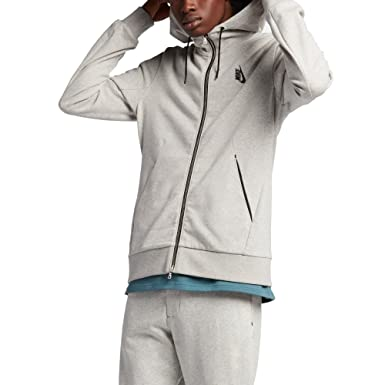 5a18d4ab0644e Amazon.com: Nike Lab Essentials Fleece Men's Full-Zip Hoodie (Large ...