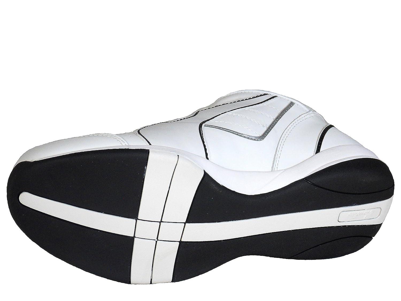 Henselite Mens Blade Quality Lawn Bowling Shoes White