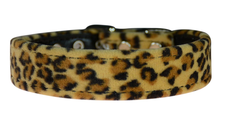 Leopard Size 10 Leopard Size 10 Evans Collars 3 4  Shaped Collar, Size 10, Animal Prints, Leopard