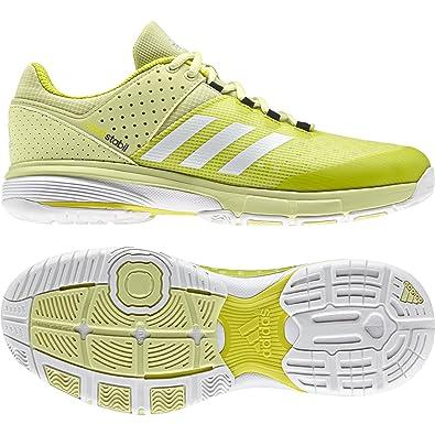 best sneakers 35f8e 2f0da adidas Damen Court Stabil W Handballschuhe, Gelb (AmahieFtwbla  Neguti  000)