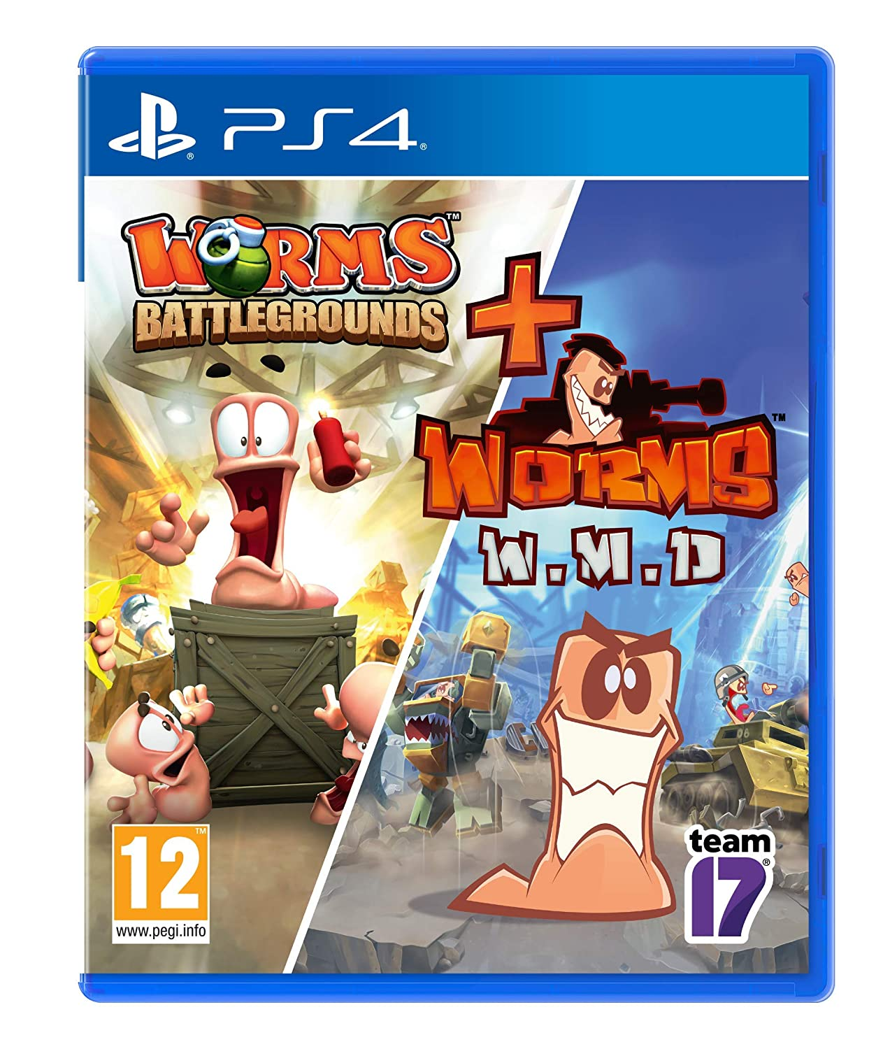 Amazon Com Worms Battleground Worms Wmd Ps4 Video Games