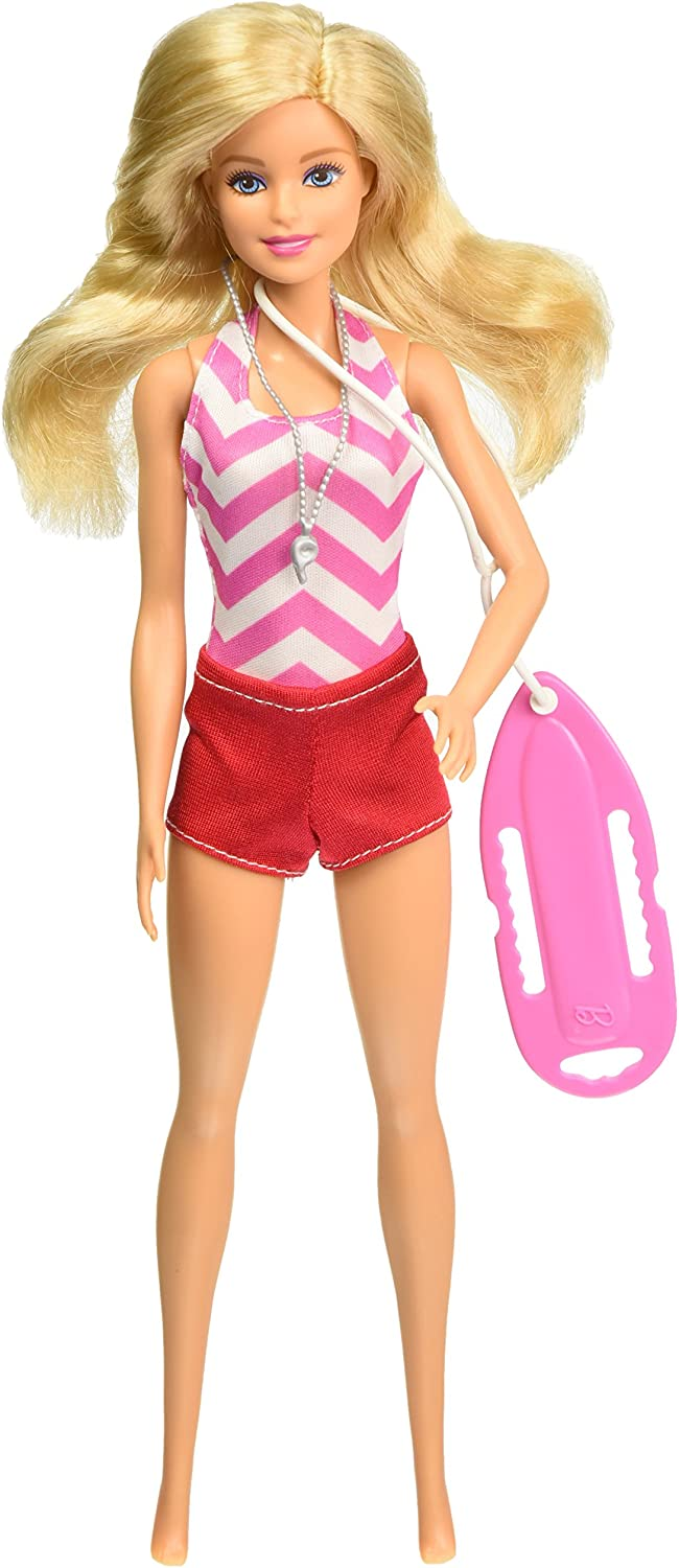 Barbie Doll I Can Be Lifeguard Career Doll New
