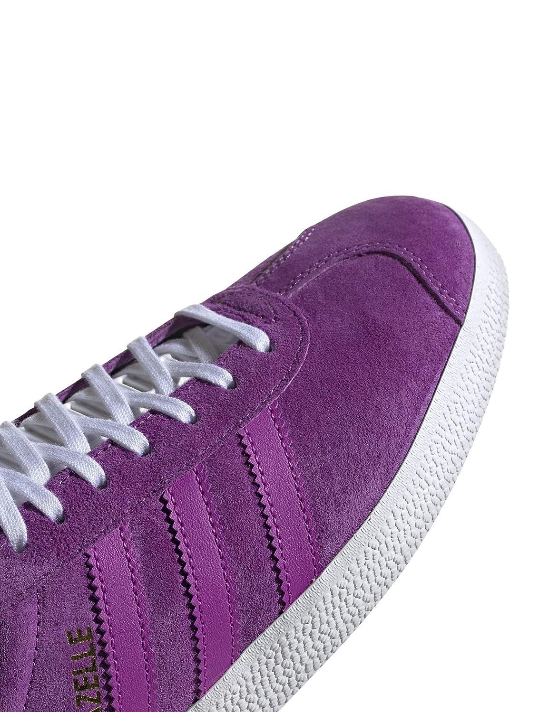adidas gazelle violet blanc