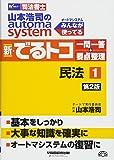 司法書士 山本浩司のautoma system 新・でるトコ一問一答+要点整理 (1) 民法 第2版 (W(WASEDA)セミナー 司法書士)