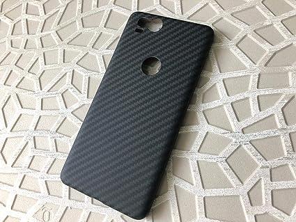 new arrival e167d d18e2 PITAKA Google Pixel 2 Aramid Case/Cover (Black-Grey Twill)