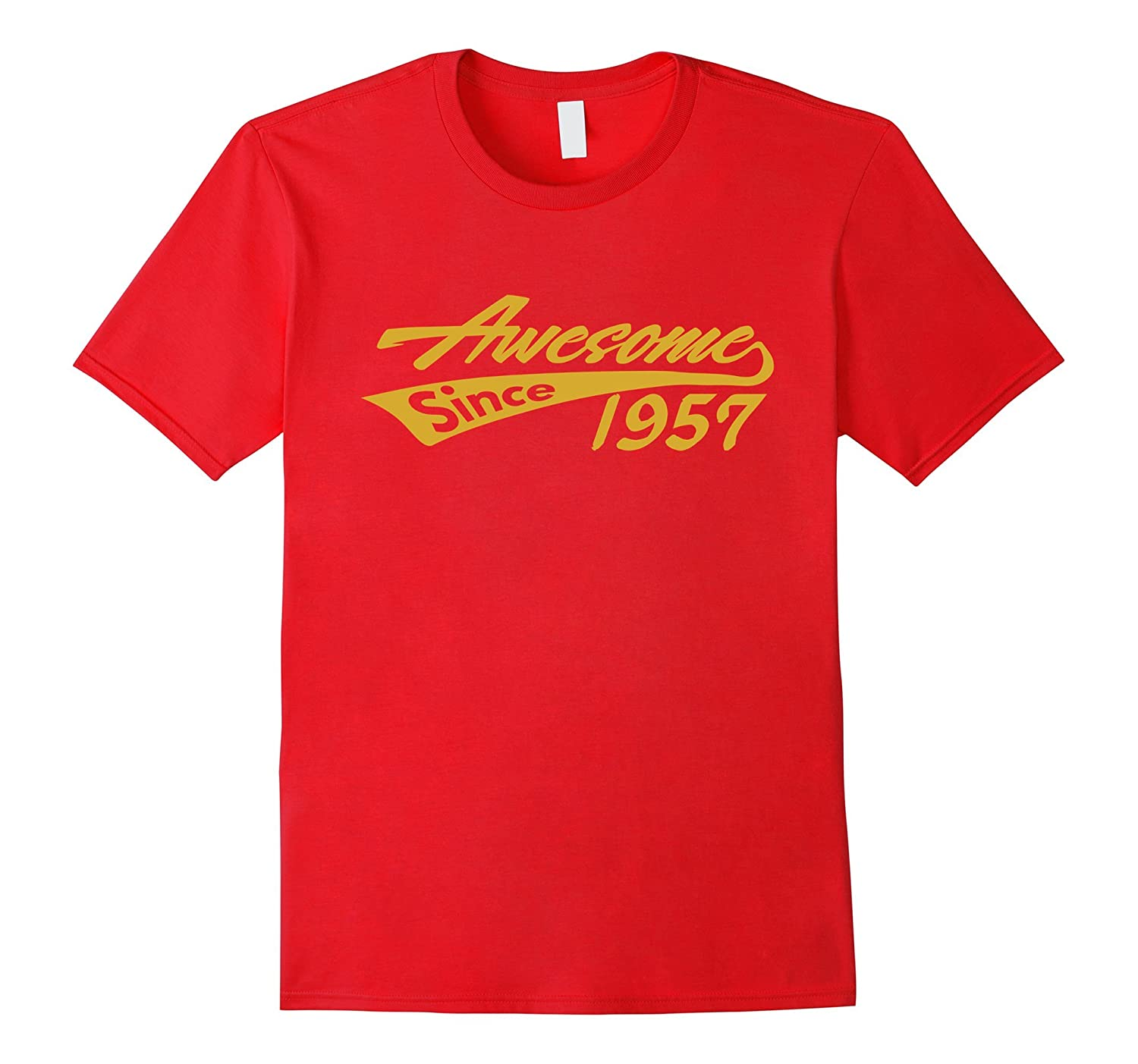Awesome Since 1957 T-shirt Cool Luxury Fashion Birthday Tee-TH