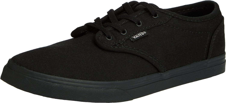 Vans Herren Atwood Canvas Total Schwarz Sneakers, Black 186