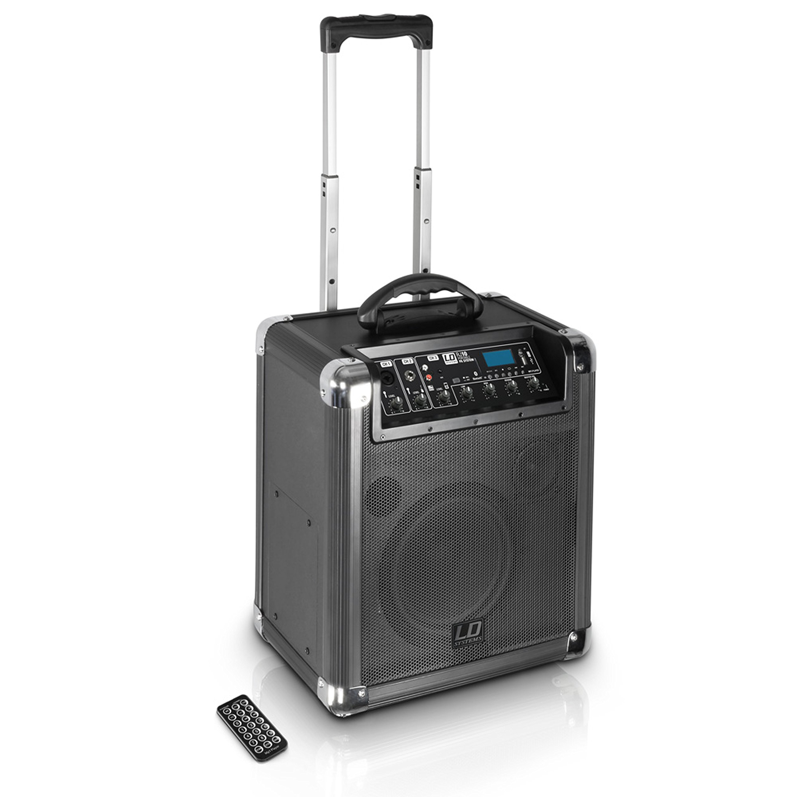 LD Systems LDRJ10 Road Jack 10 Battery Powered Bluetooth Speaker with 10'' Subwoofer by LD Systems