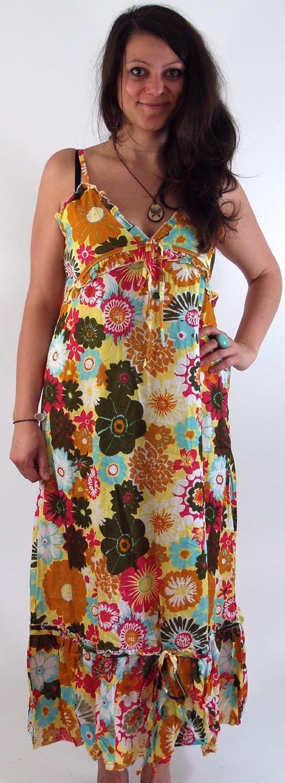 Maxikleid Strandkleid Hippie in 2 Farben / Lange Kleider