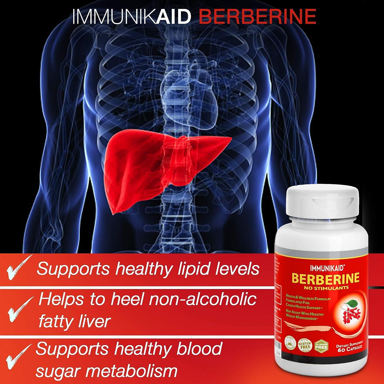 Amazon.com: Suplementos premium de berberina pura de 1200 mg ...