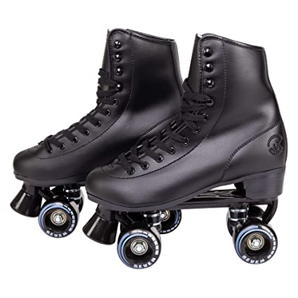 b8dcc641837 Cal 7 Soft Boot Roller Skate, Retro Fashion High Top Design in Faux Leather  for