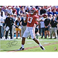 "$111 » Tua Tagovailoa Alabama Crimson Tide Autographed 16"" x 20"" Passing Photograph - Fanatics Authentic Certified"