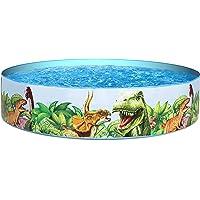 Bestway BW55022-20 Dinosaurous Fill 'N Fun Kiddie Piscina para niños, 1,83 m x 38 cm