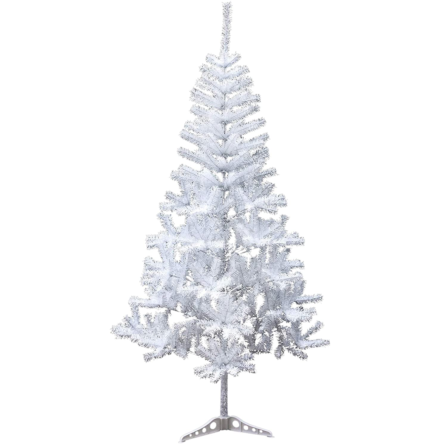 White 4 Foot Christmas Tree: Holiday Essence 4 Foot White Artificial Christmas Tree