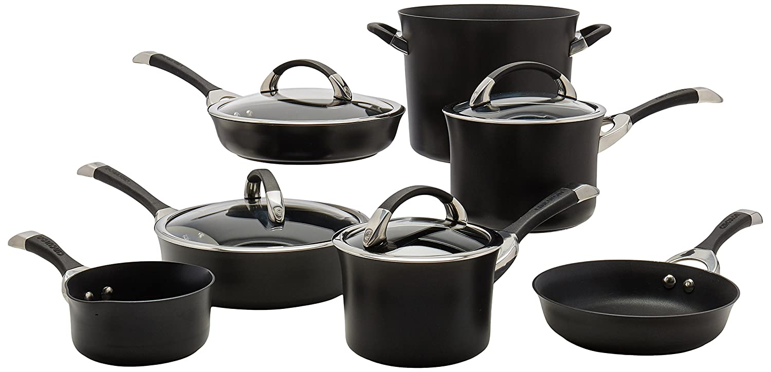 Circulon Symmetry Hard Anodized Nonstick Cookware Set