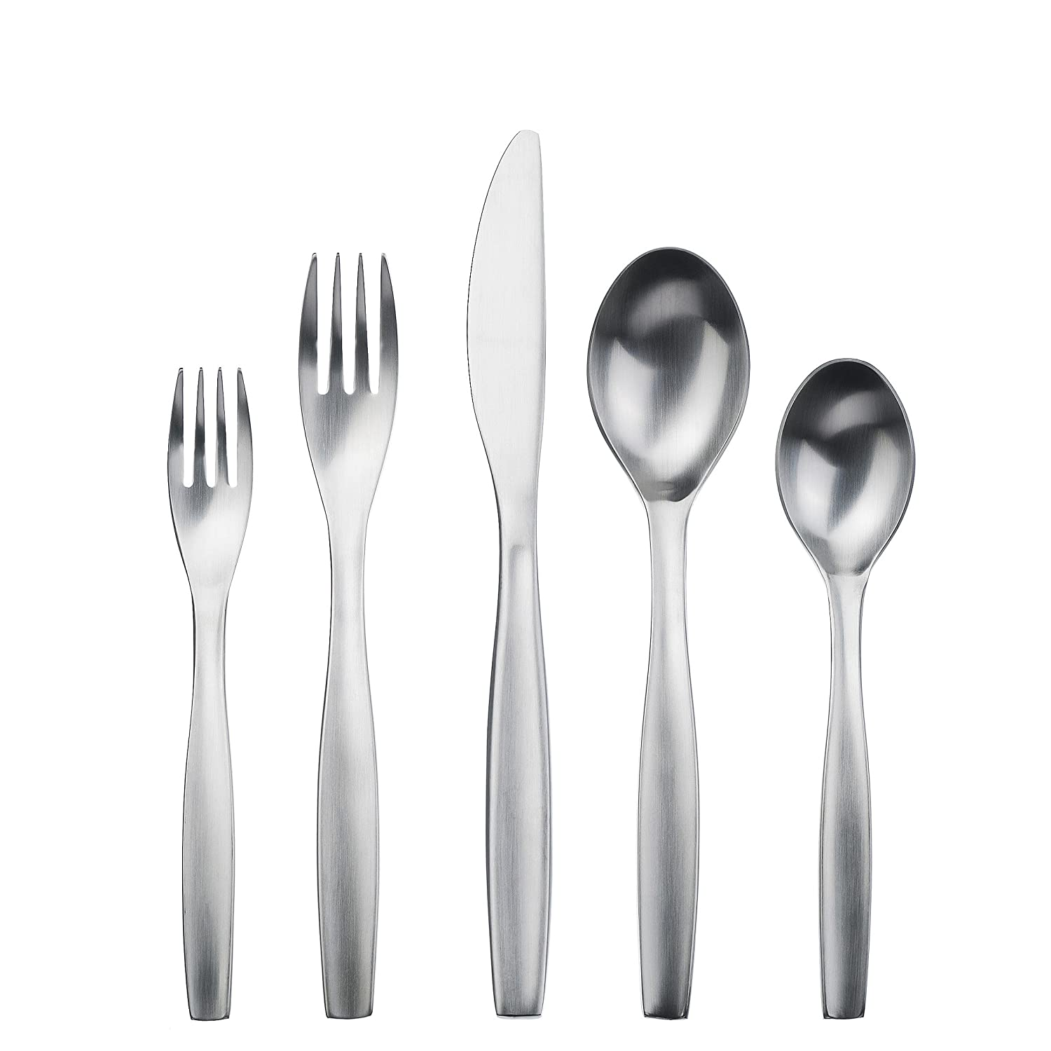 Amazon.com | Gourmet Settings 28-380 Loft Flatware Set Regular Stainless Steel: Flatware Sets