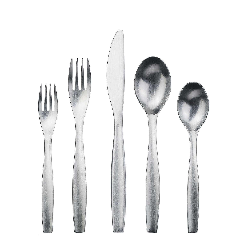 Amazon.com | Gourmet Settings 28-380 Loft Flatware Set Regular Stainless Steel: Flatware Sets