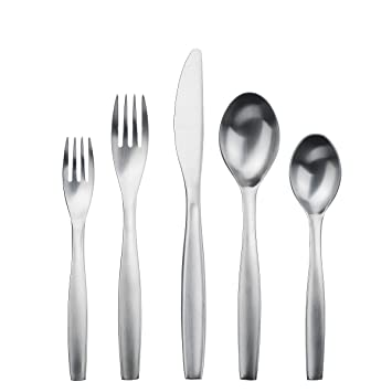 Gourmet Settings 28-380 Loft Flatware Set Regular Stainless Steel